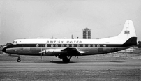 Photo of British United Airways (BUA) Viscount G-APTC