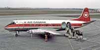 Air Canada Viscount c/n 223 CF-THF.