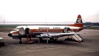 Photo of British Eagle International Airlines Viscount c/n 394 G-ATFN