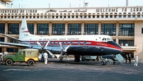 New Zealand National Airways Corporation Viscount ZK-BRF