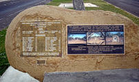 Memorial Stone in Winton.