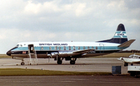 Photo of British Midland Airways (BMA) Viscount G-AZNA