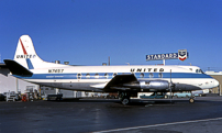 Photo of United Air Lines Viscount N7457 c/n 212 December 1968