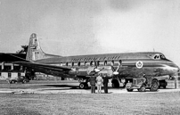 The first TCA Viscount c/n 40 CF-TGI.