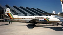 Air Zimbabwe Viscount c/n 446 Z-WGC.