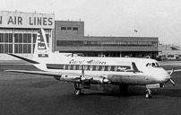 Photo of Capital Airlines (USA) Viscount N7405