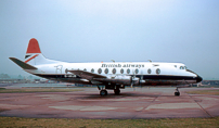 Photo of British Airways (BA) Viscount G-AVJB