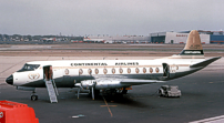Photo of Continental Airlines Viscount N248V c/n 360 June 1964