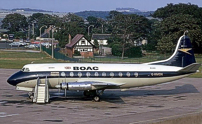 BOAC - British Overseas Airways Corporation Viscount G-AMOG
