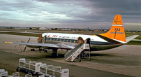 Photo of Trans-Australia Airlines (TAA) Viscount VH-TVL