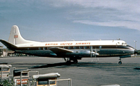 Photo of British United Airways (BUA) Viscount G-APTB