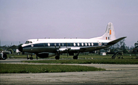 RRE - Royal Radar & Signals Establishment Viscount c/n 438 XT575