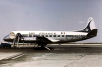 Photo of Air France Viscount F-BGNQ