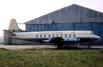 Photo of Channel Airways Viscount G-APZB