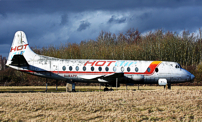 Photo of Home Office Fire & Emergency Training Centre Viscount G-BAPF
