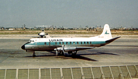 Photo of Luxair Viscount LX-LGC c/n 376 August 1967