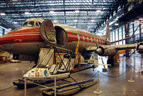 Canada Aviation and Space Museum Viscount c/n 270 CF-THI.