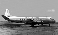 Photo of Indian Air Force Viscount IU-683