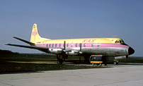 Photo of Nora Air Services (NAS) Viscount D-ANAD