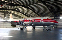 Western Canada Aviation Museum Viscount c/n 224 CF-THG