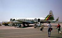 Painted in the Air Zimbabwe 'Flag' livery.