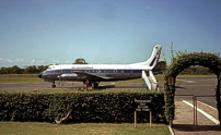 Photo of Air Zimbabwe Viscount Z-WJI c/n 241