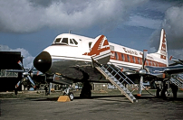 Photo of Capital Airlines (USA) Viscount N7442