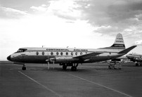 Photo of Viscount c/n 361 which was built for Continental Airlines as N249V