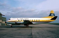 Photo of Cyprus Airways Viscount G-ARBY