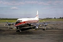 Photo of New Zealand National Airways Corp (NAC) Viscount ZK-BRE
