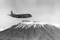A photographic sortie was carried out near Mount Kilimanjaro.