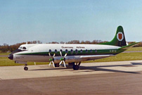 Guernsey Airlines Viscount G-BFYZ