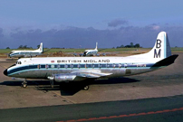 Photo of British Midland Airways (BMA) Viscount G-AVJB