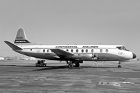 Photo of Continental Airlines Viscount N251V