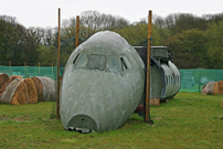 Photo of the Mayhem Paintball Centre Viscount G-AOHL c/n 161