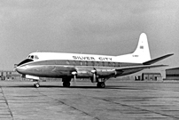 Silver City Airways Viscount c/n 12 G-ARER