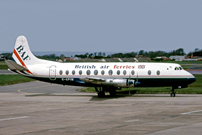 Photo of British Air Ferries (BAF) Viscount G-APIM c/n 412