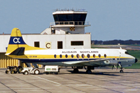 Photo of Guernsey Airlines Viscount G-BFMW