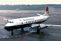 Photo of British Airways (BA) Viscount G-AOYN