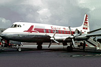 Photo of Capital Airlines (USA) Viscount N7402