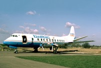 Photo of British Air Ferries (BAF) Viscount SE-IVY