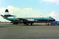 Photo of GB Airways Viscount G-BAPF c/n 338 March 1988