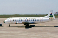 Photo of Gambia Air Shuttle Viscount G-AZNA