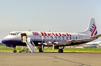 Photo of British Air Ferries (BAF) Viscount G-AOYP