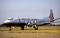 BWA - British World Airlines Viscount G-APEY