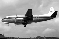 Photo of British United Airways (BUA) Viscount G-ARBY