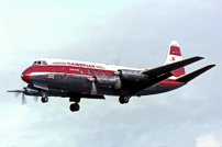 Photo of Cambrian Airways Viscount G-AMOE