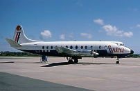 Photo of Intra Airways Viscount G-AVJB