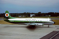 Photo of Guernsey Airlines Viscount G-BFYZ