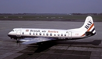 Photo of British Air Ferries (BAF) Viscount G-AOYN